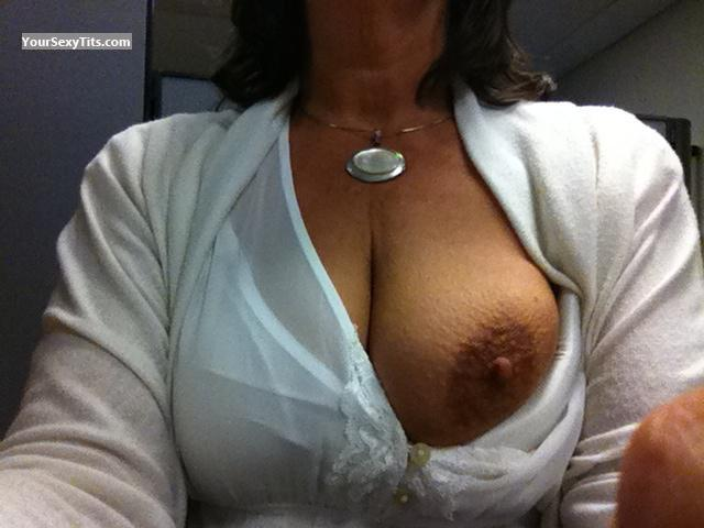 My Big Tits Selfie by Single Tit Flash From Cincy!