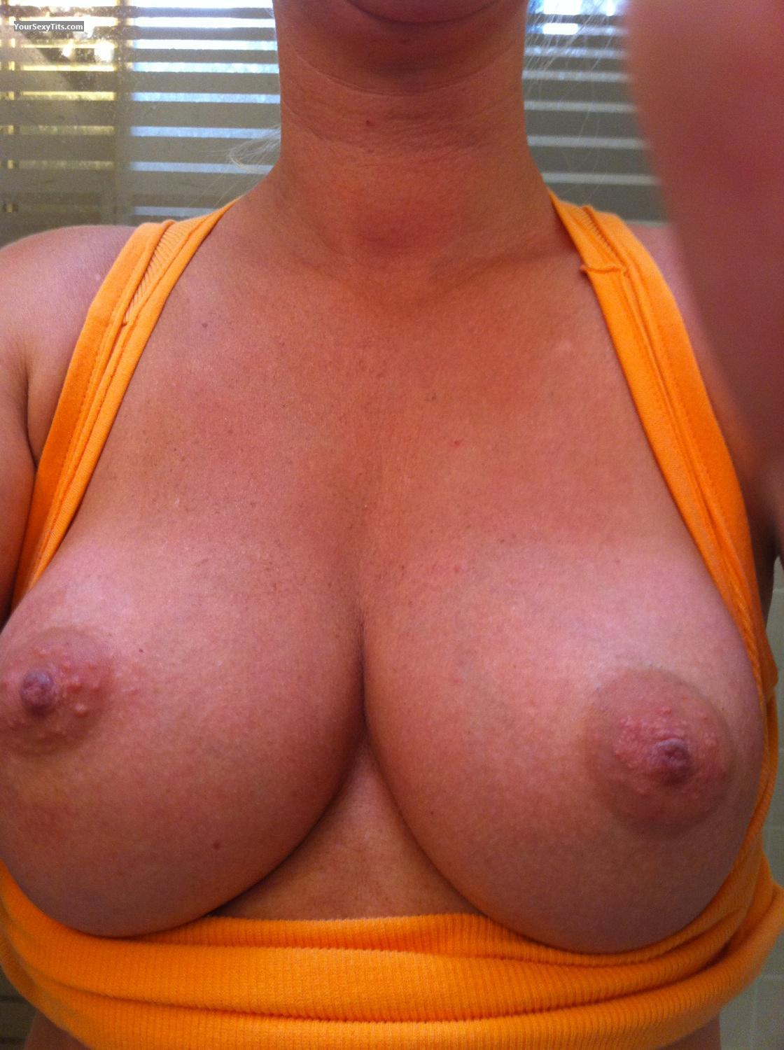 My Medium Tits Selfie by Wanna CuM