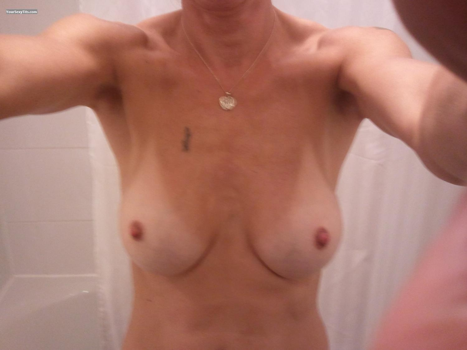 My Medium Tits Selfie by Wife