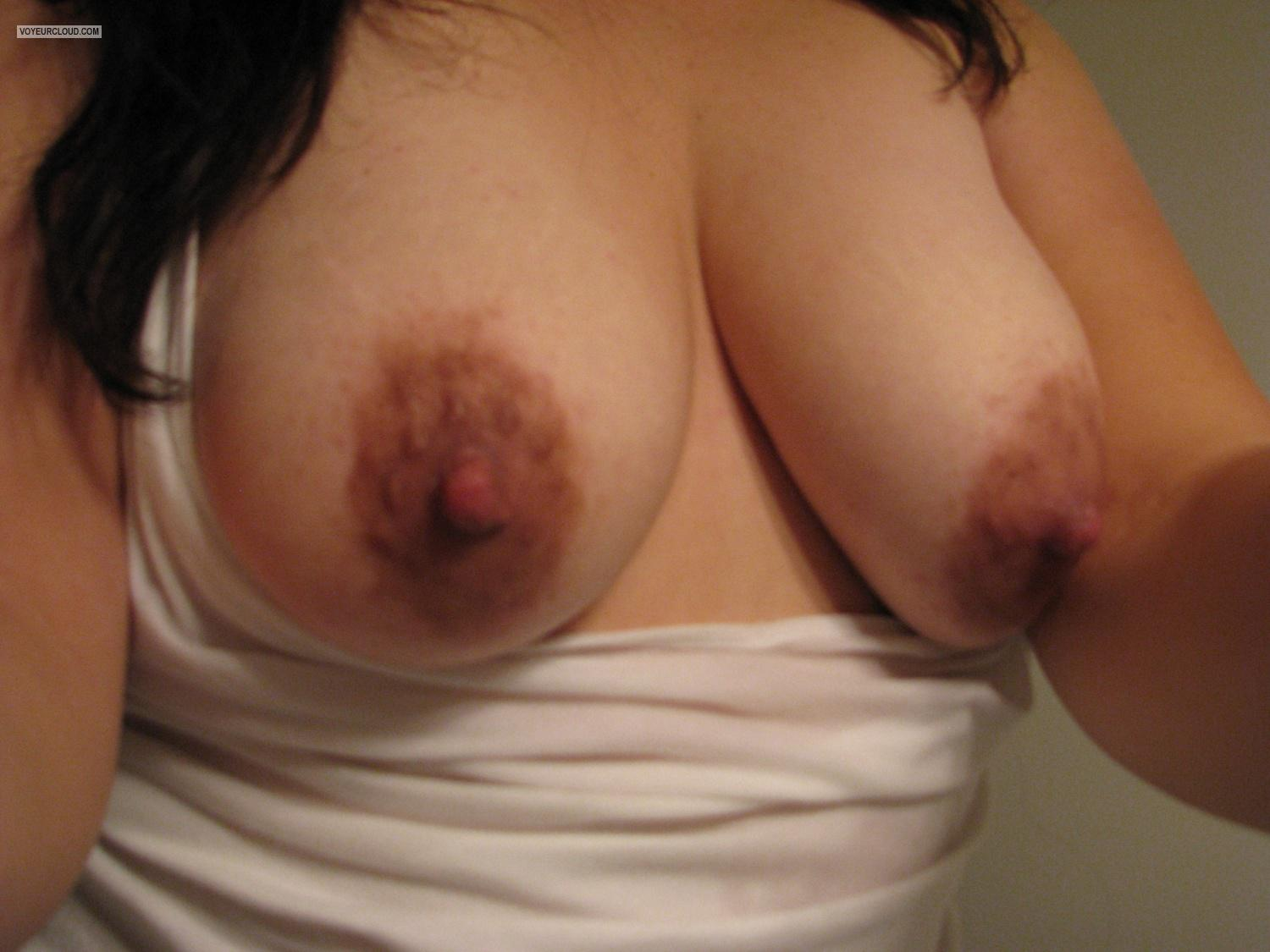 Tit Flash: My Big Tits By IPhone (Selfie) - Anne5 from Canada