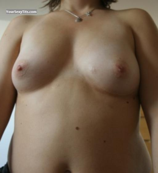 Tit Flash: Medium Tits By IPhone - Jessica from Switzerland