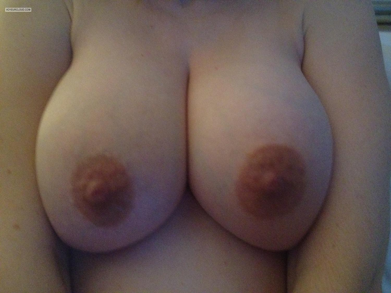Tit Flash: My Big Tits By IPhone (Selfie) - Julie from United Kingdom