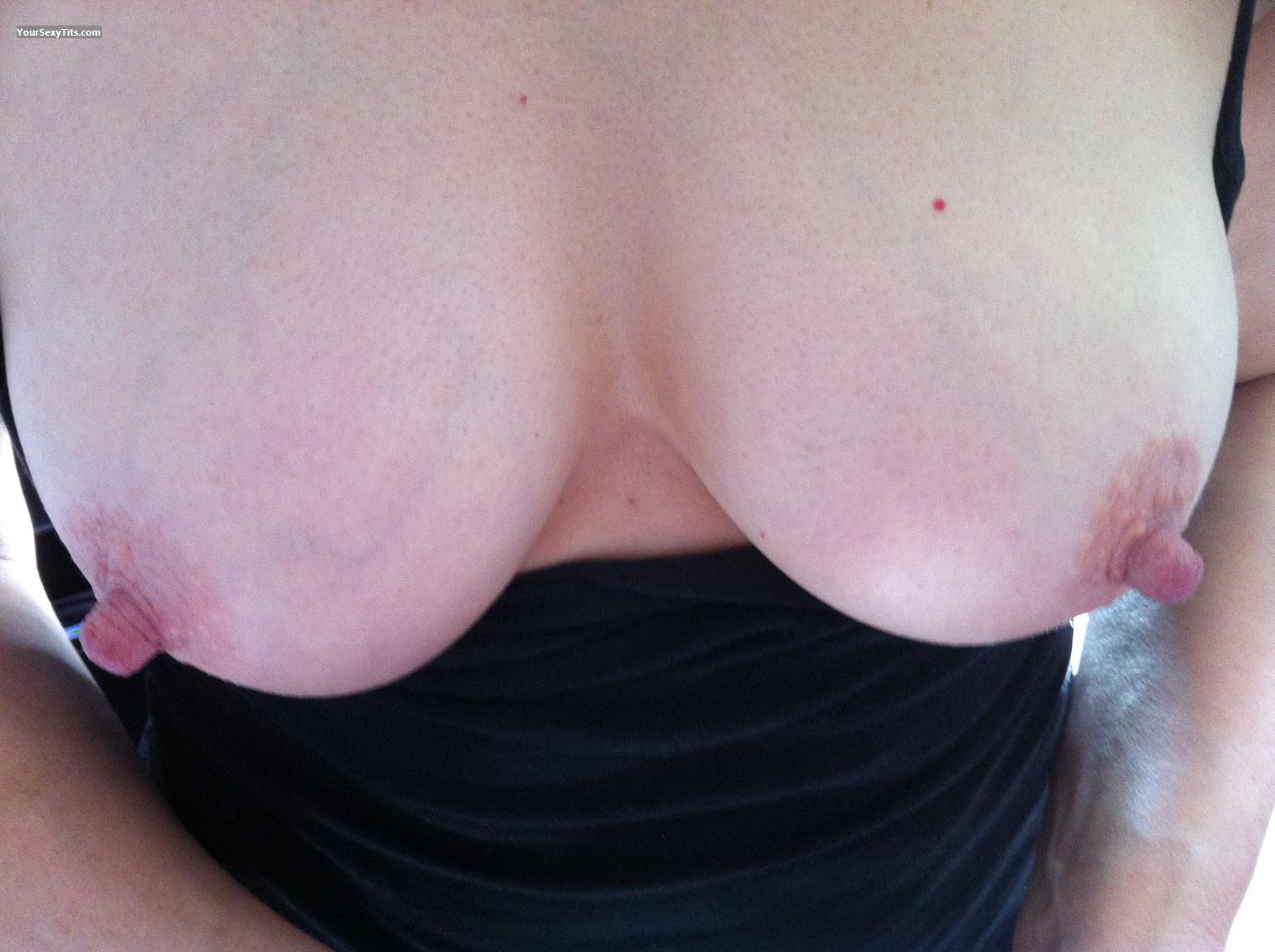 Tit Flash: Medium Tits By IPhone - Andy from United States