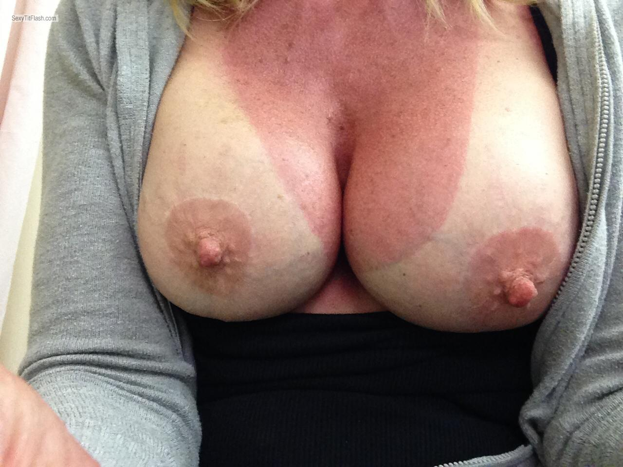 My Medium Tits Selfie by Bobbie