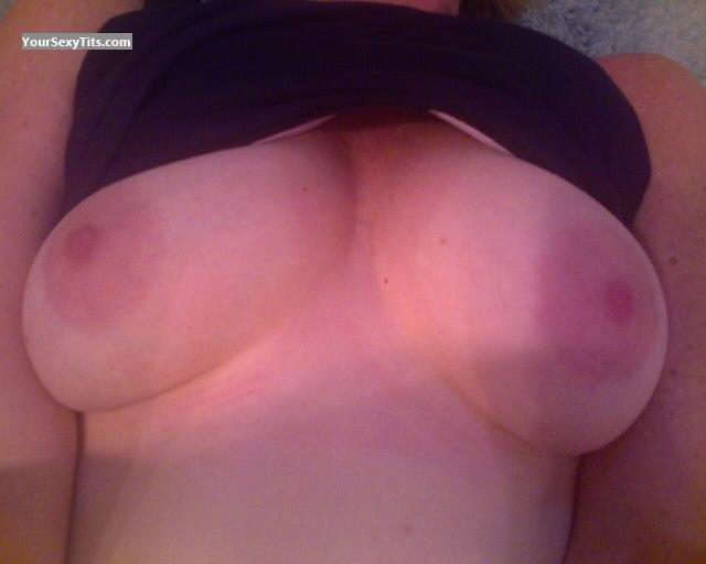 Tit Flash: Medium Tits By IPhone - SF MILF from United States