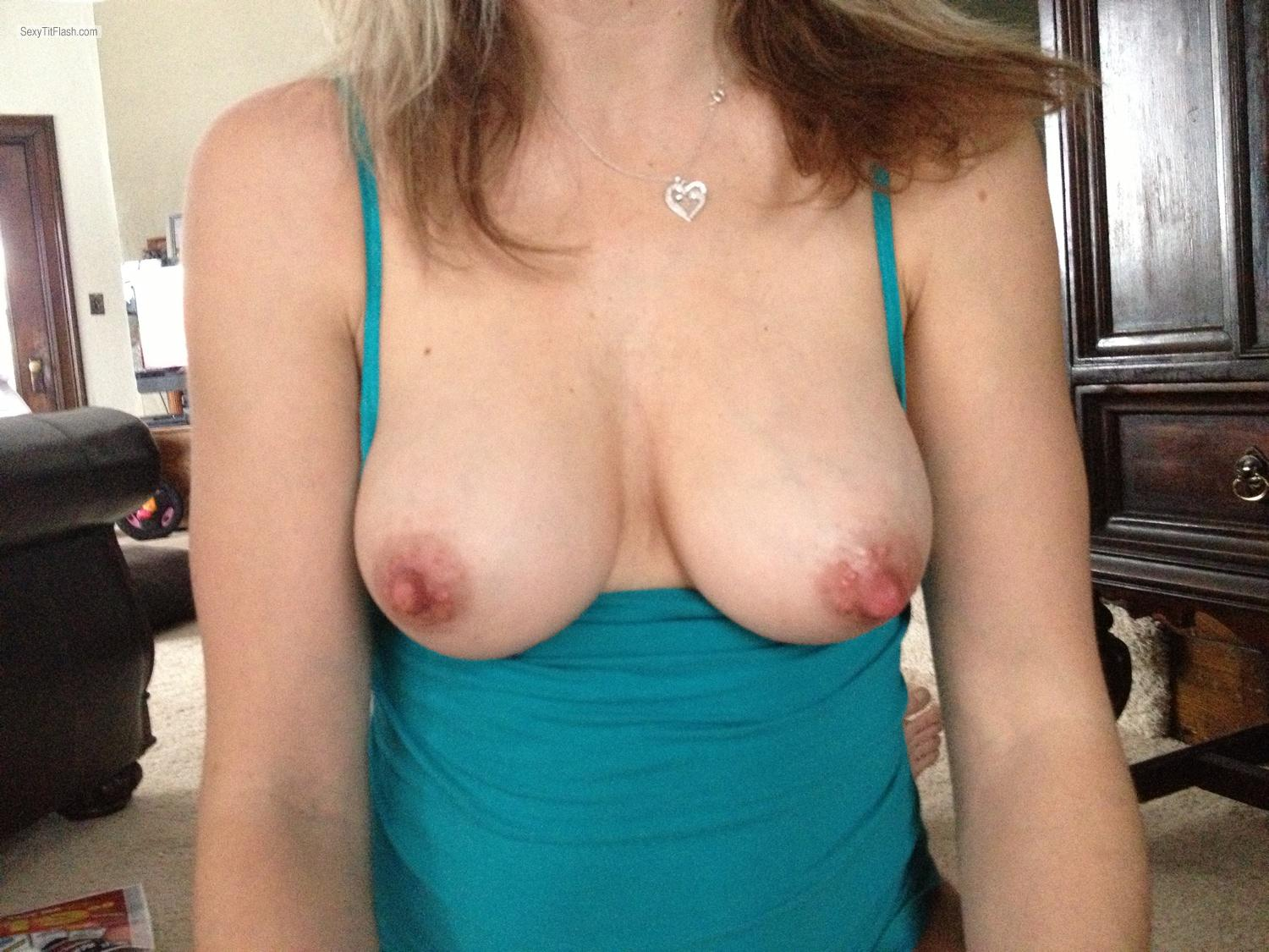 Medium Tits Shy Milf