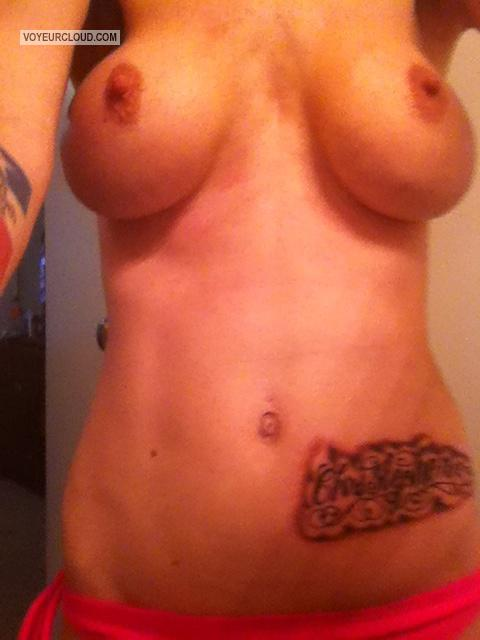 My Medium Tits Selfie by Texas Angel