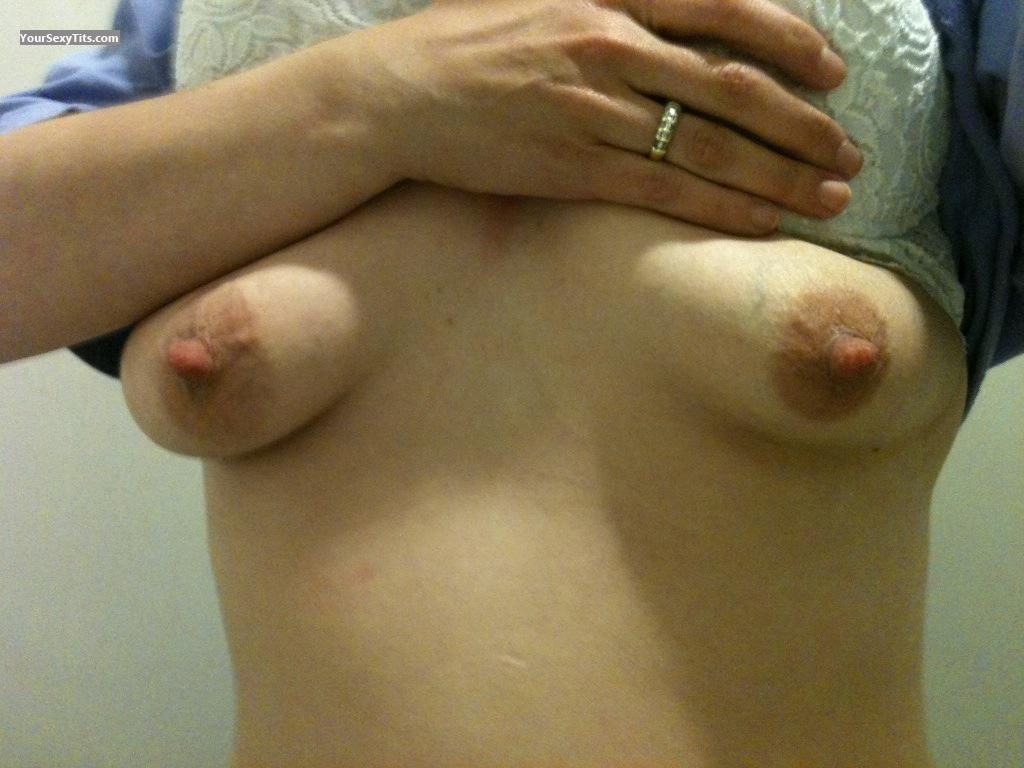 Tit Flash: Medium Tits By IPhone - Newguy09 from United States