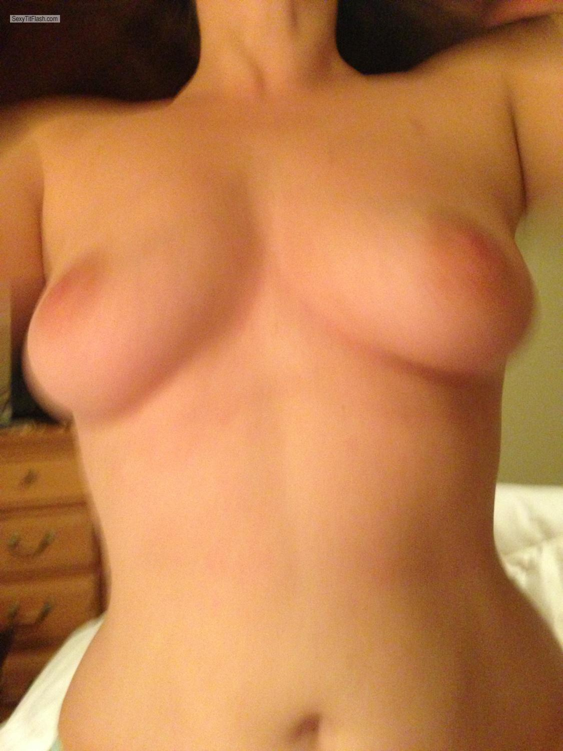 Tit Flash: Medium Tits By IPhone - Puppers from United States
