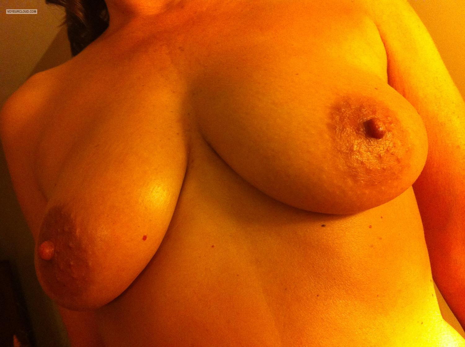Tit Flash: Medium Tits By IPhone - Pepper Duval from United States