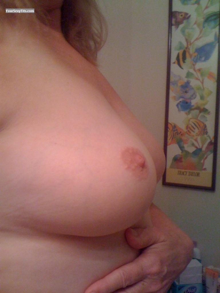 My Medium Tits Selfie by Atlanta Nurse