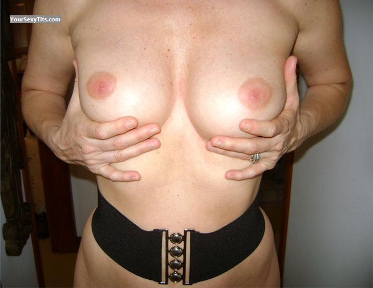Tit Flash: Medium Tits - Lili from Brazil