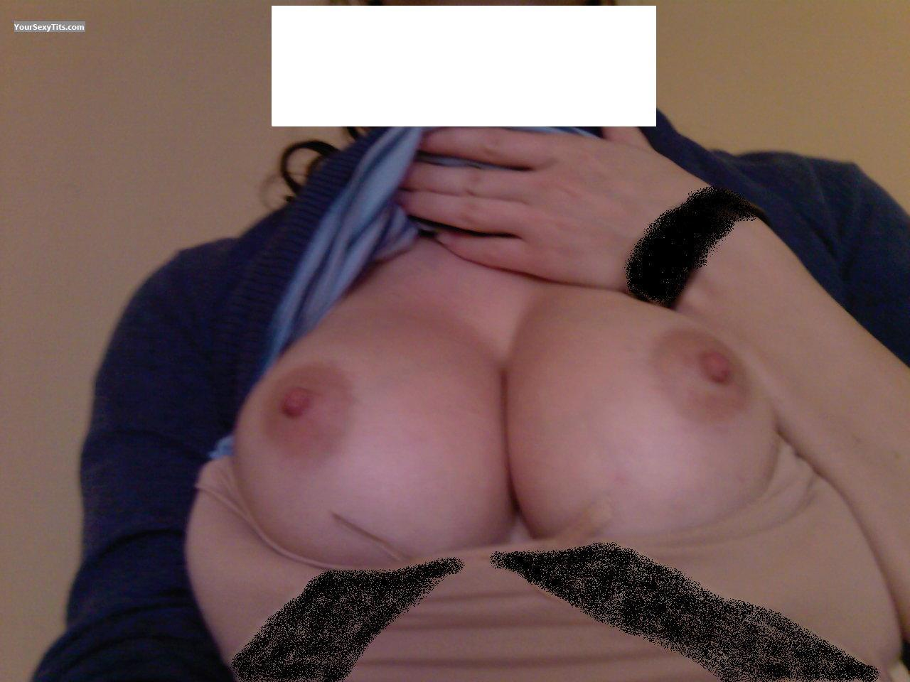 Tit Flash: My Medium Tits (Selfie) - Irma from United States