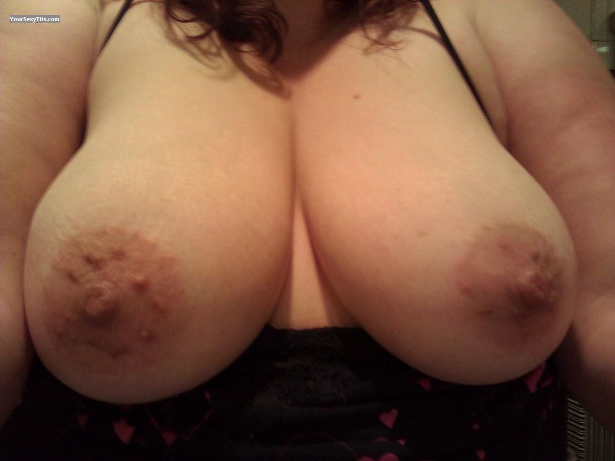 Tit Flash: My Medium Tits (Selfie) - VeryShyWife from United States