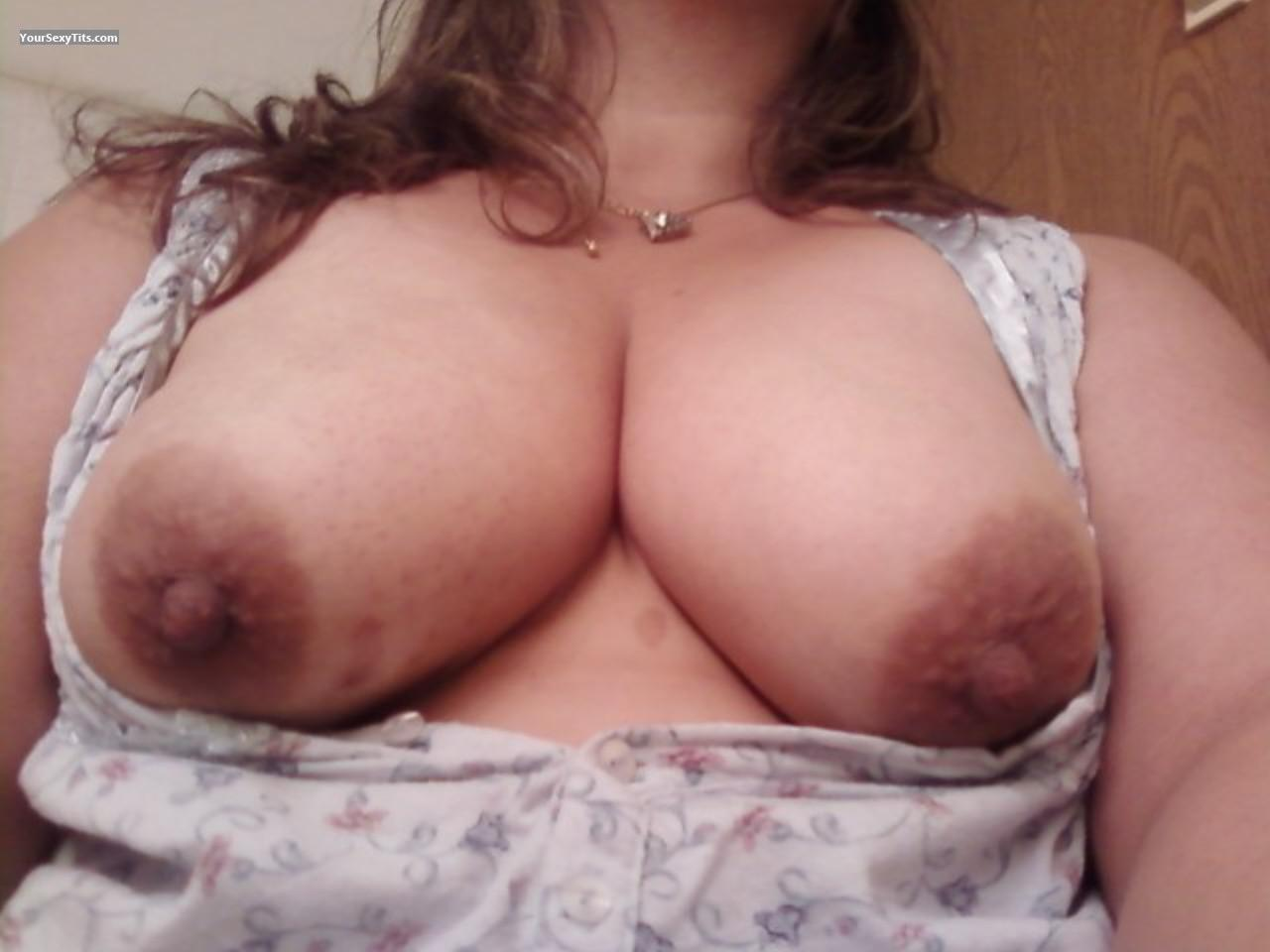 Big Tits Of My Room Mate Selfie by Stacey Think Nipples