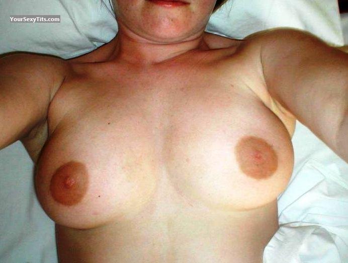 Tit Flash: My Medium Tits (Selfie) - Sal from United States