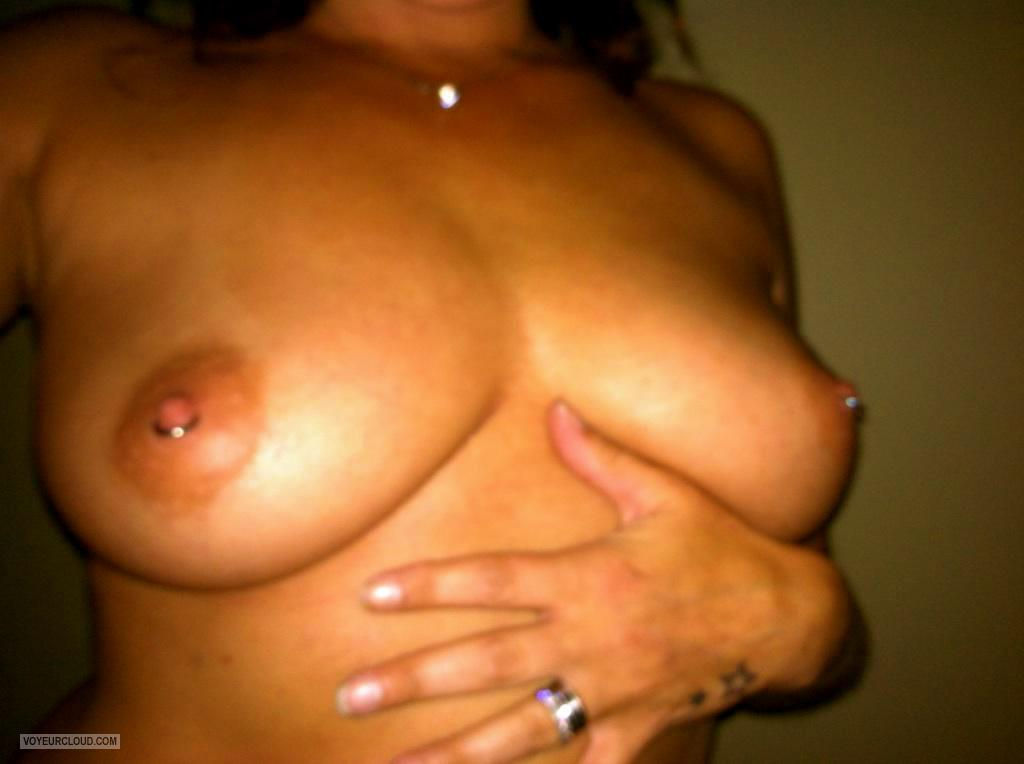 Medium Tits Of My Wife Selfie by Amanda