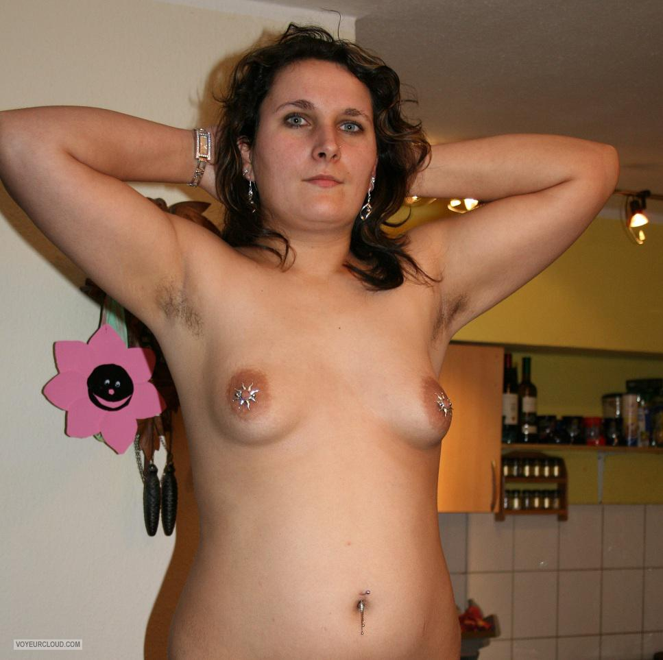 Wife small boobs