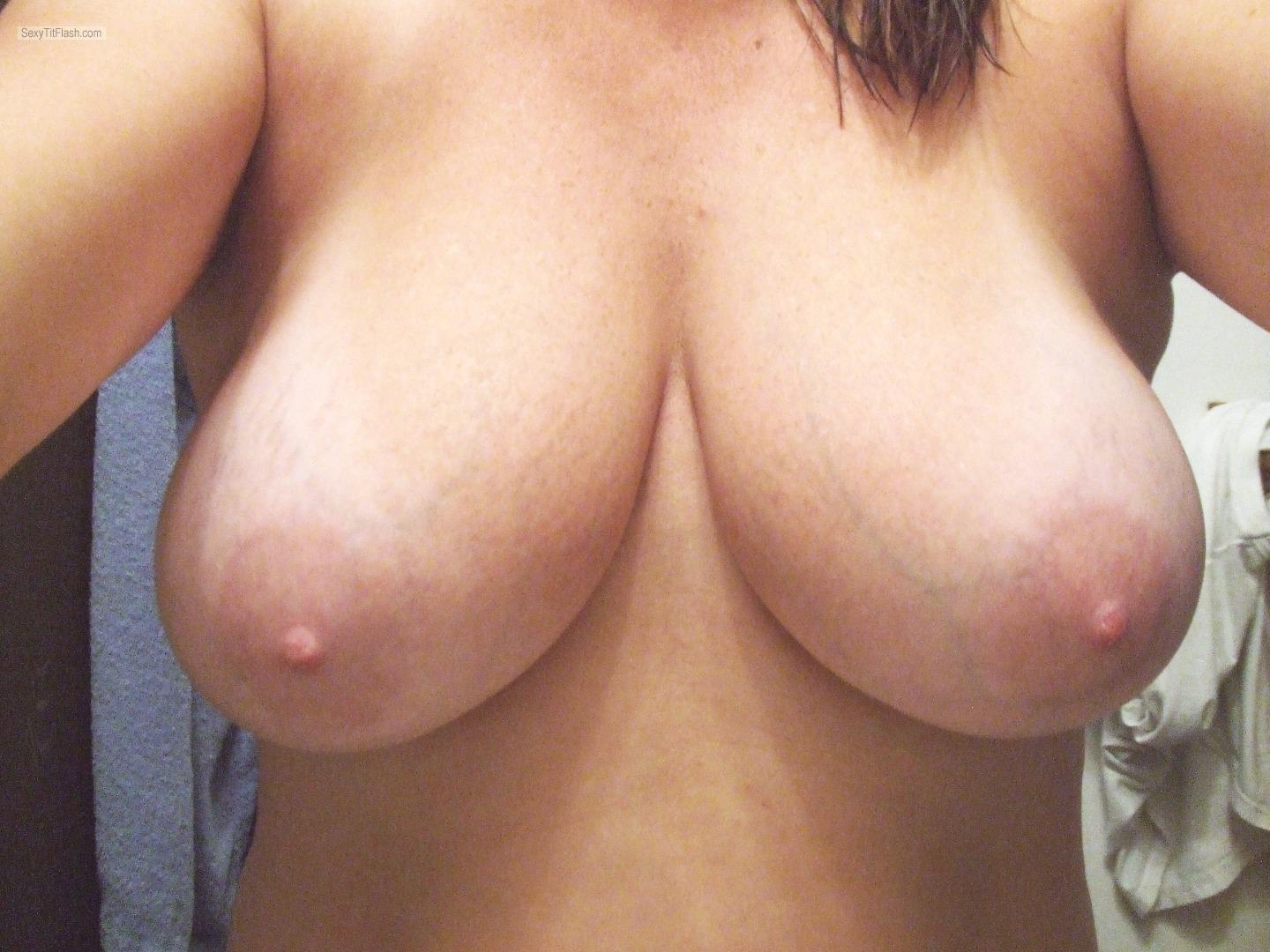 Tit Flash: My Big Tits (Selfie) - Jabbas from United Kingdom