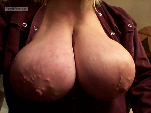 Tit Flash: My Medium Tits - Nadia from Russian Federation