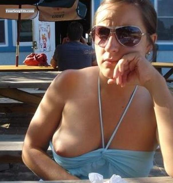 Medium Tits Topless Vacation