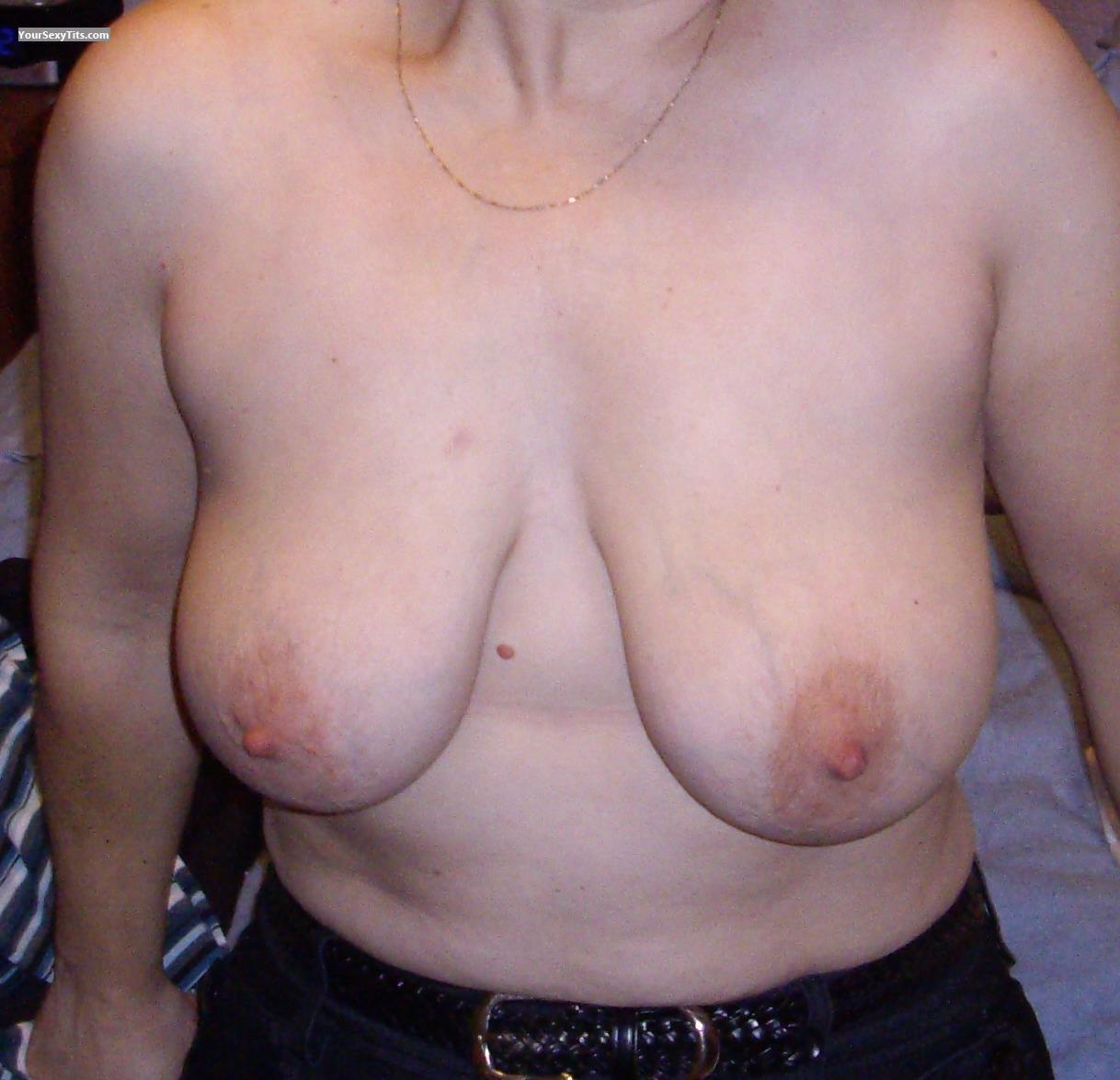 Tit Flash: Medium Tits - Sally from Canada