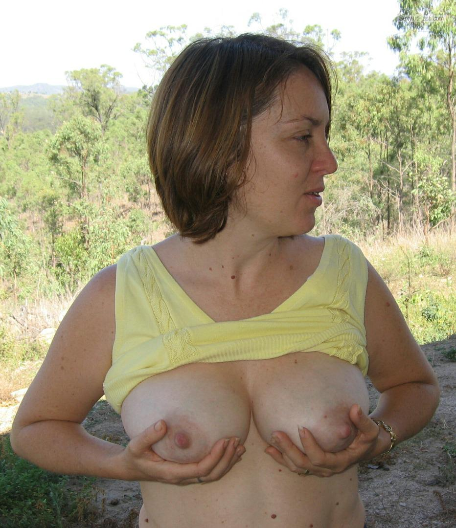 My Medium Tits Topless NZ MILF