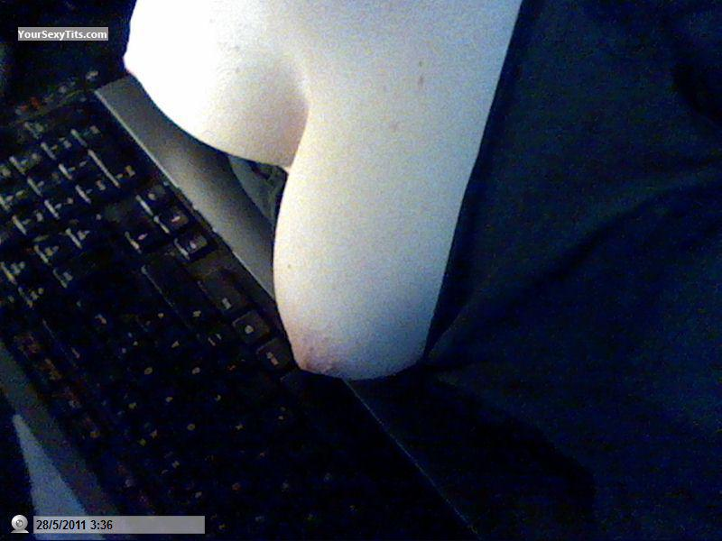 My Medium Tits Selfie by Me