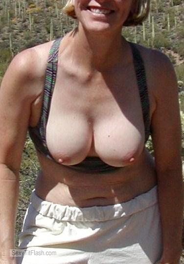 Medium Tits Of My Wife Linda
