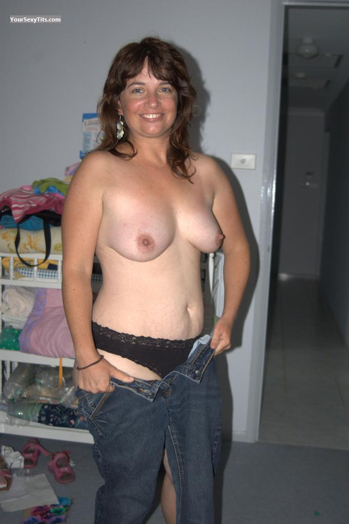 Medium Tits Of My Ex-Wife Topless Jo