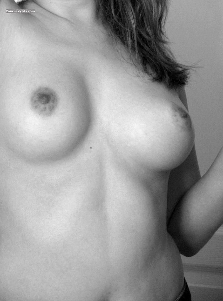 Tit Flash: My Medium Tits (Selfie) -