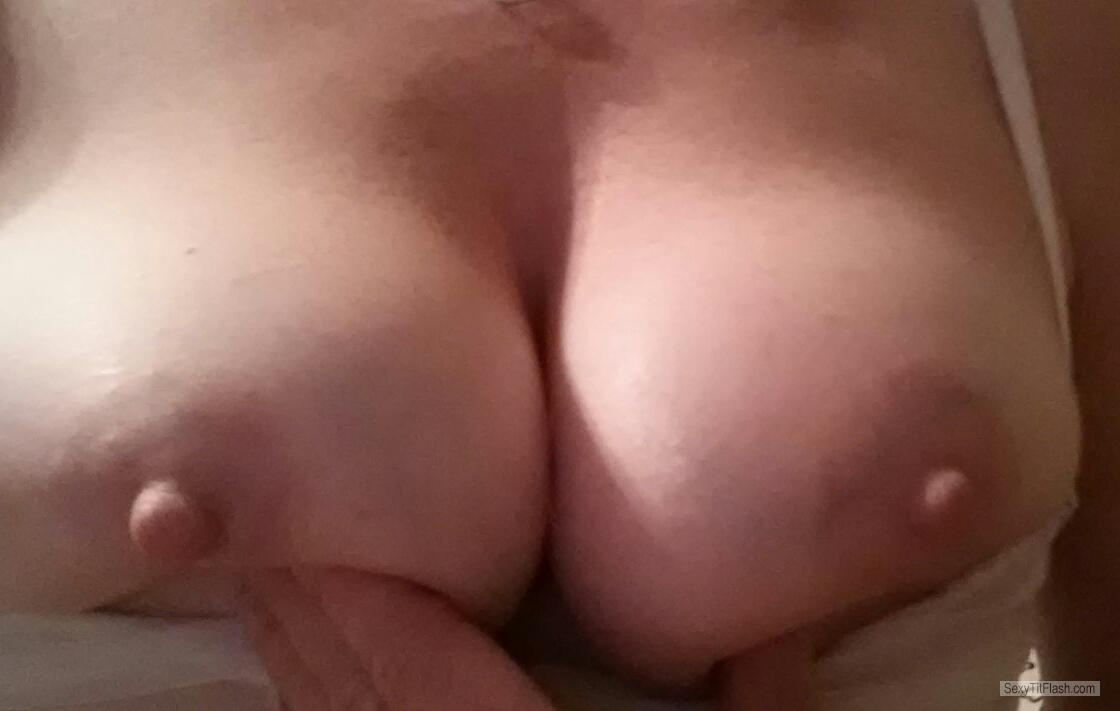 Tit Flash: My Medium Tits - Playful from United States