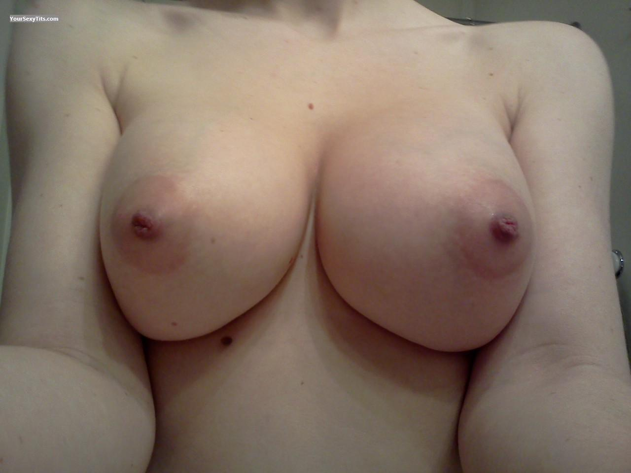 Medium Tits Of My Wife Selfie by Naughty Girl