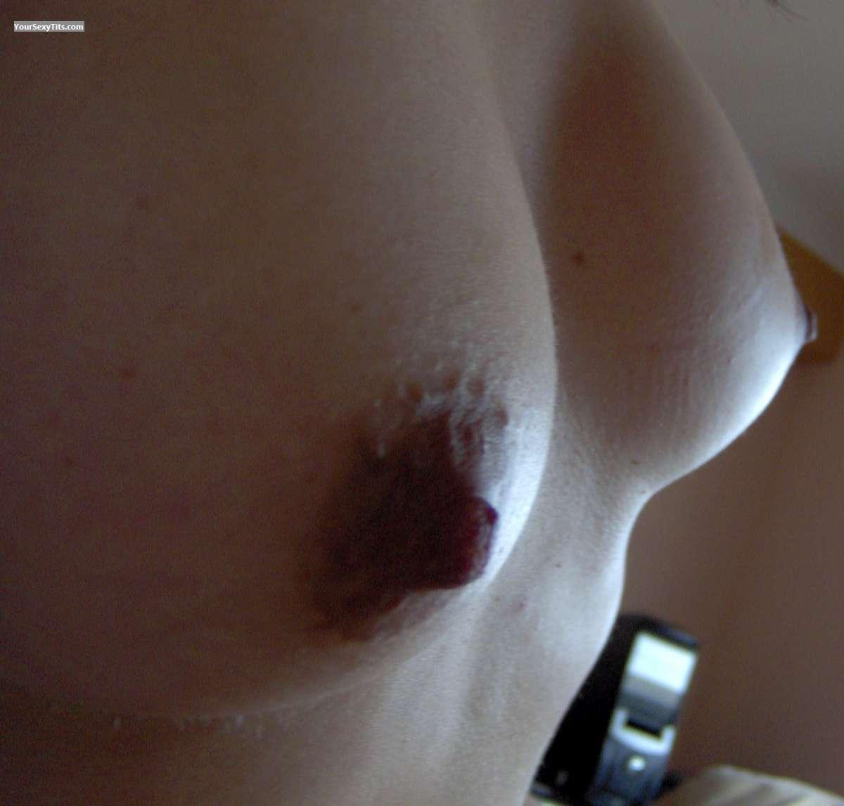 Tit Flash: My Medium Tits (Selfie) - VoyeurwebLover from Venezuela