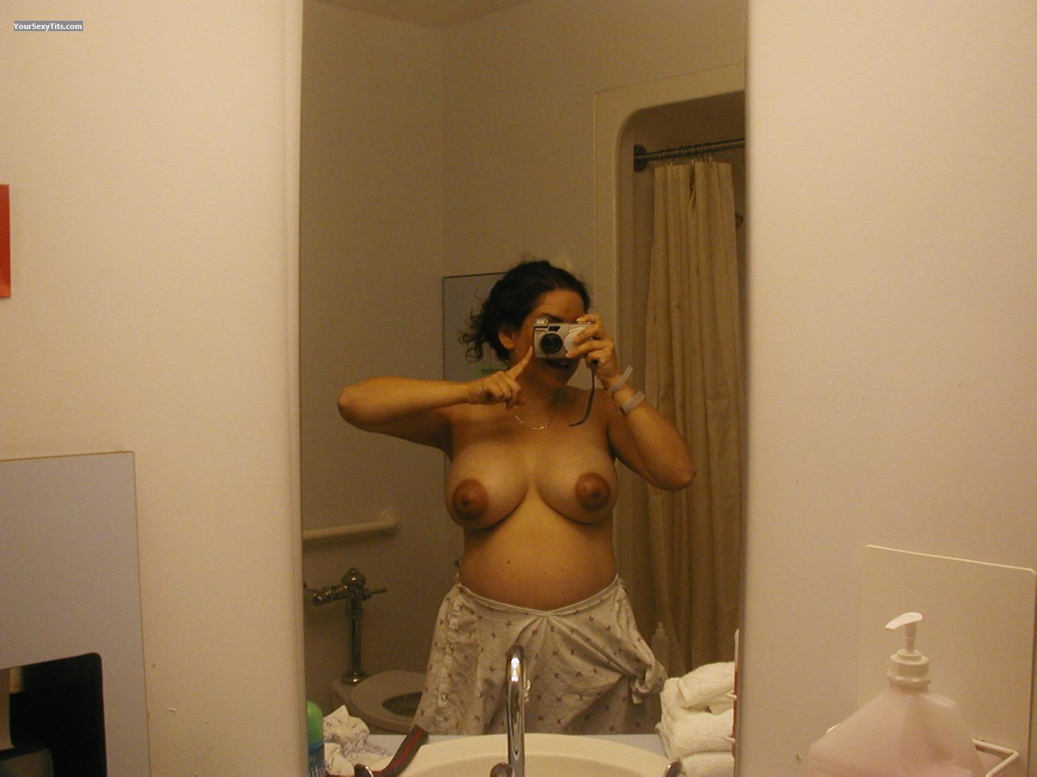 My Big Tits Selfie by Canadaman