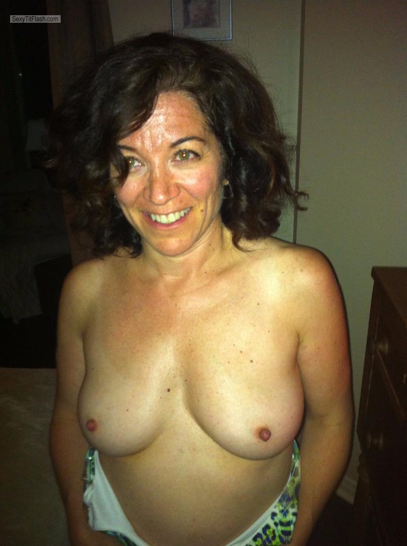 Medium Tits Topless Bank Manager