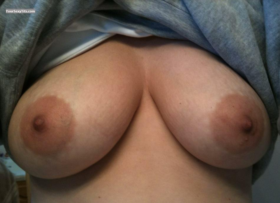 Tit Flash: My Medium Tits (Selfie) - Macey from United States