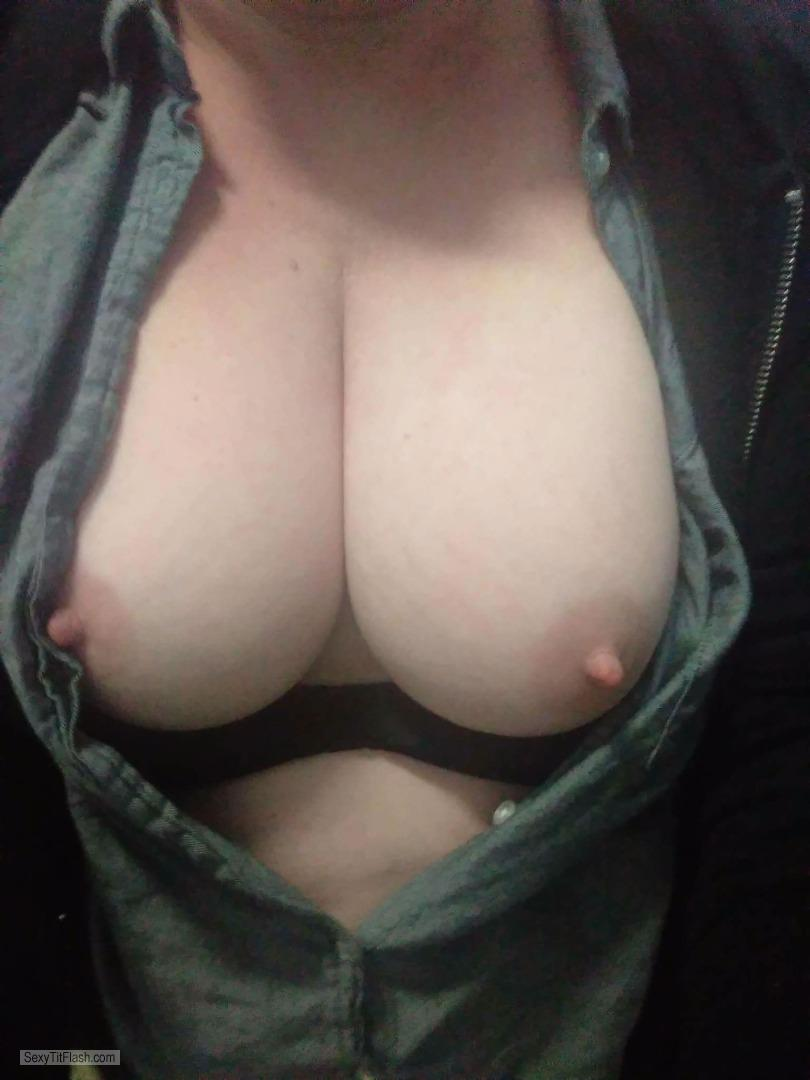 Medium Tits Of My Wife Selfie by Djs74