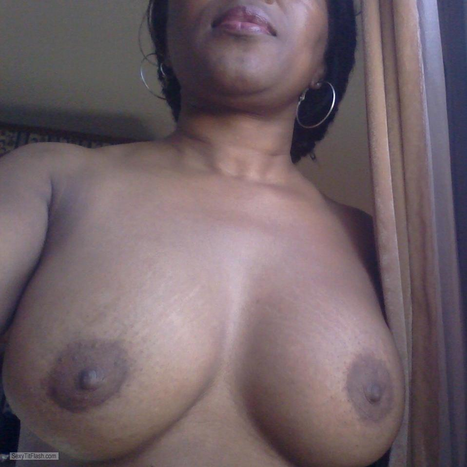 Tit Flash: My Medium Tits - Samantha from United States