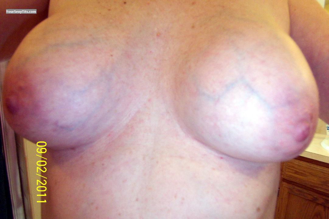 Tit Flash: Medium Tits - Testing Waters from United States