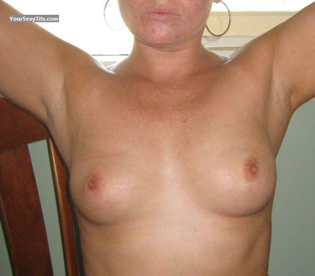 Tit Flash: Medium Tits - Samantha from Australia
