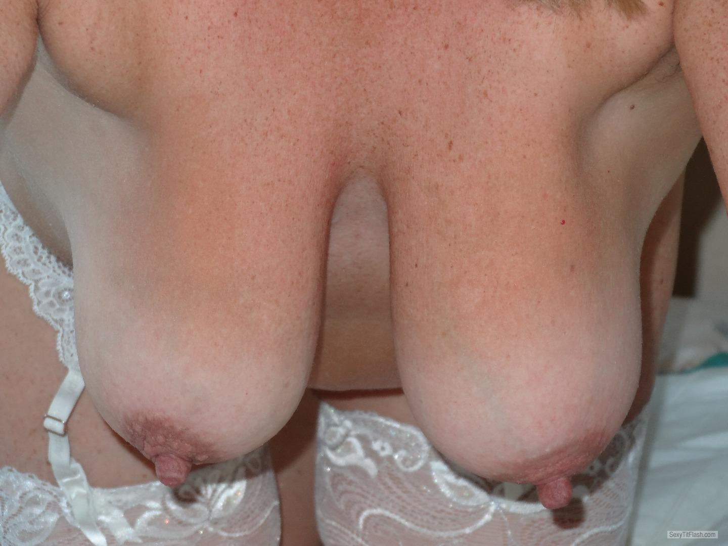Tit Flash: My Medium Tits - Josie Juggs from United Kingdom