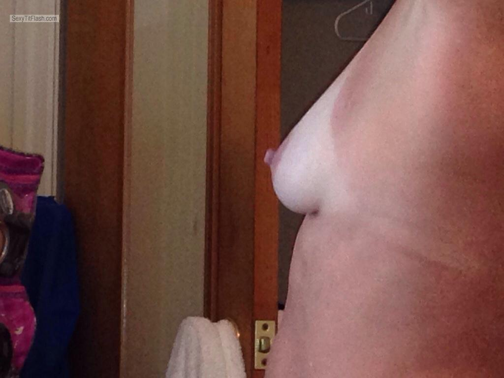 Tit Flash: My Small Tits With Strong Tanlines - Duke Girl from United Kingdom