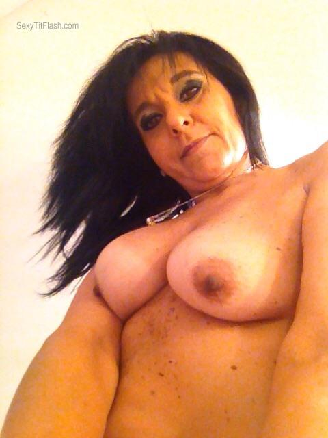 My Medium Tits Topless Selfie by Antonella