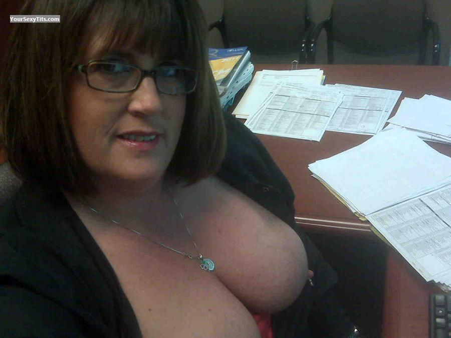 Showing tits at work