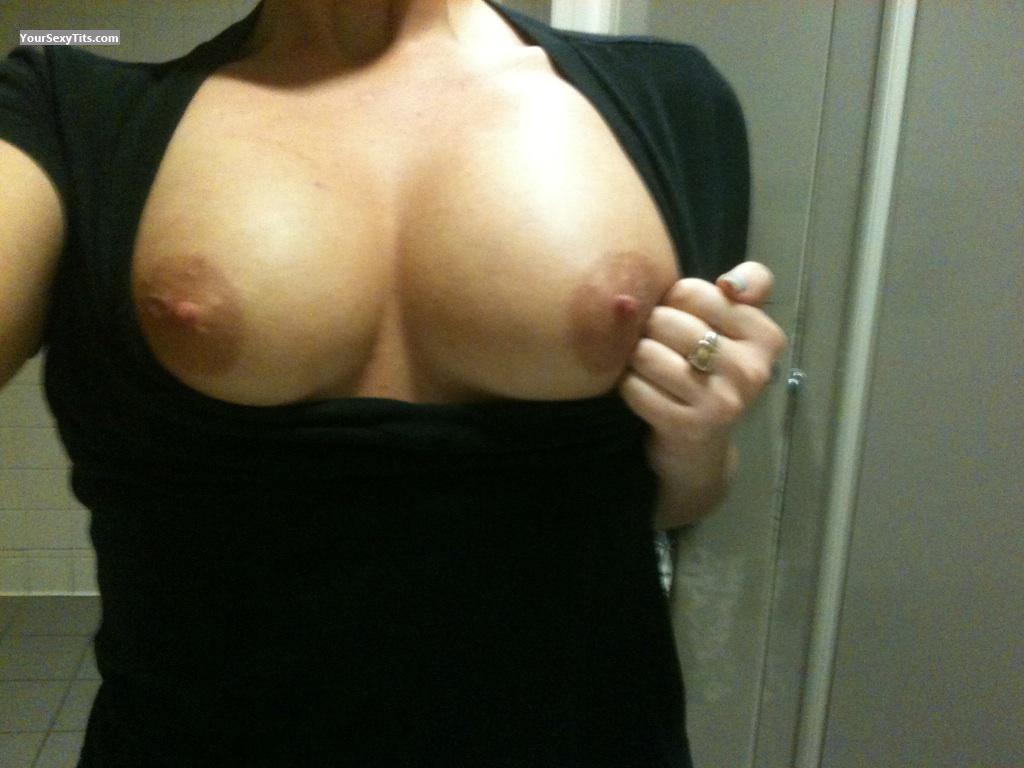 Tit Flash: My Medium Tits - Fontain from United States