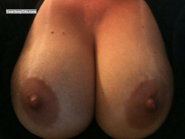 Tit Flash: My Medium Tits (Selfie) - American Girl from United States