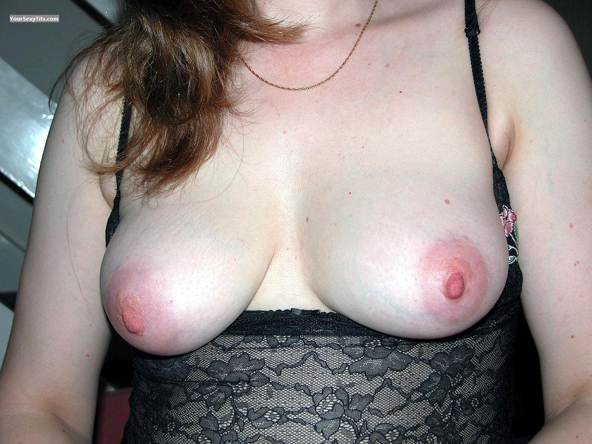 Tit Flash: Medium Tits - UK Hotie from United Kingdom