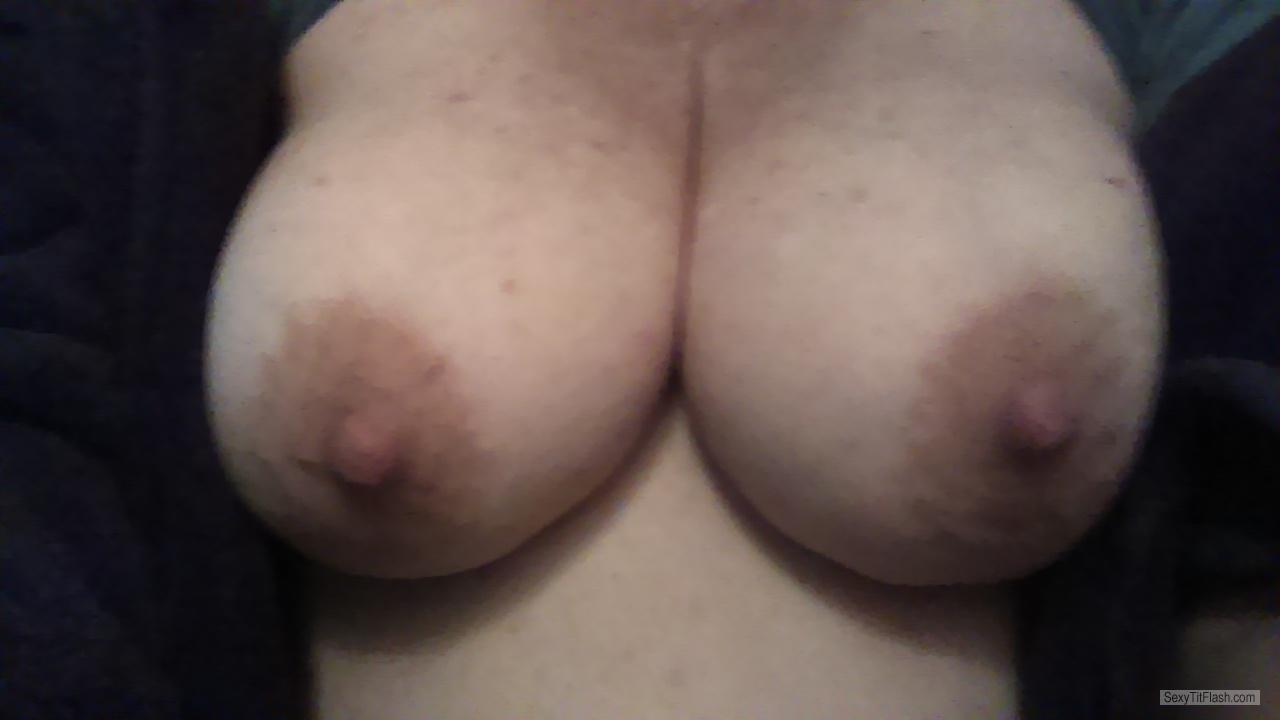 Tit Flash: My Big Tits (Selfie) - Amybitso from United Kingdom