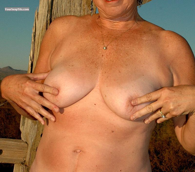 Tit Flash: Medium Tits - DDogg from United States
